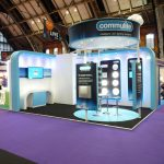 Commulite's emergency lighting stand